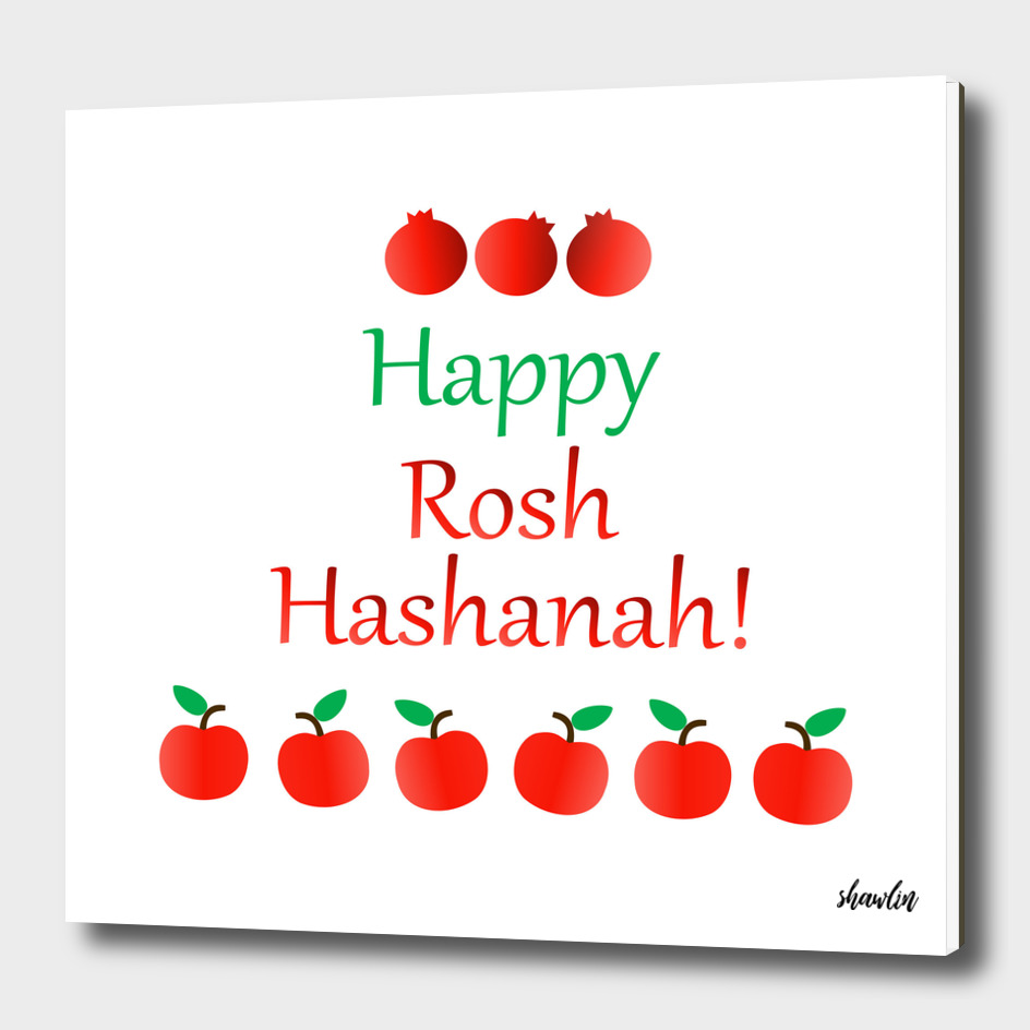 Rosh Hashanah or Jewish Near year greetings