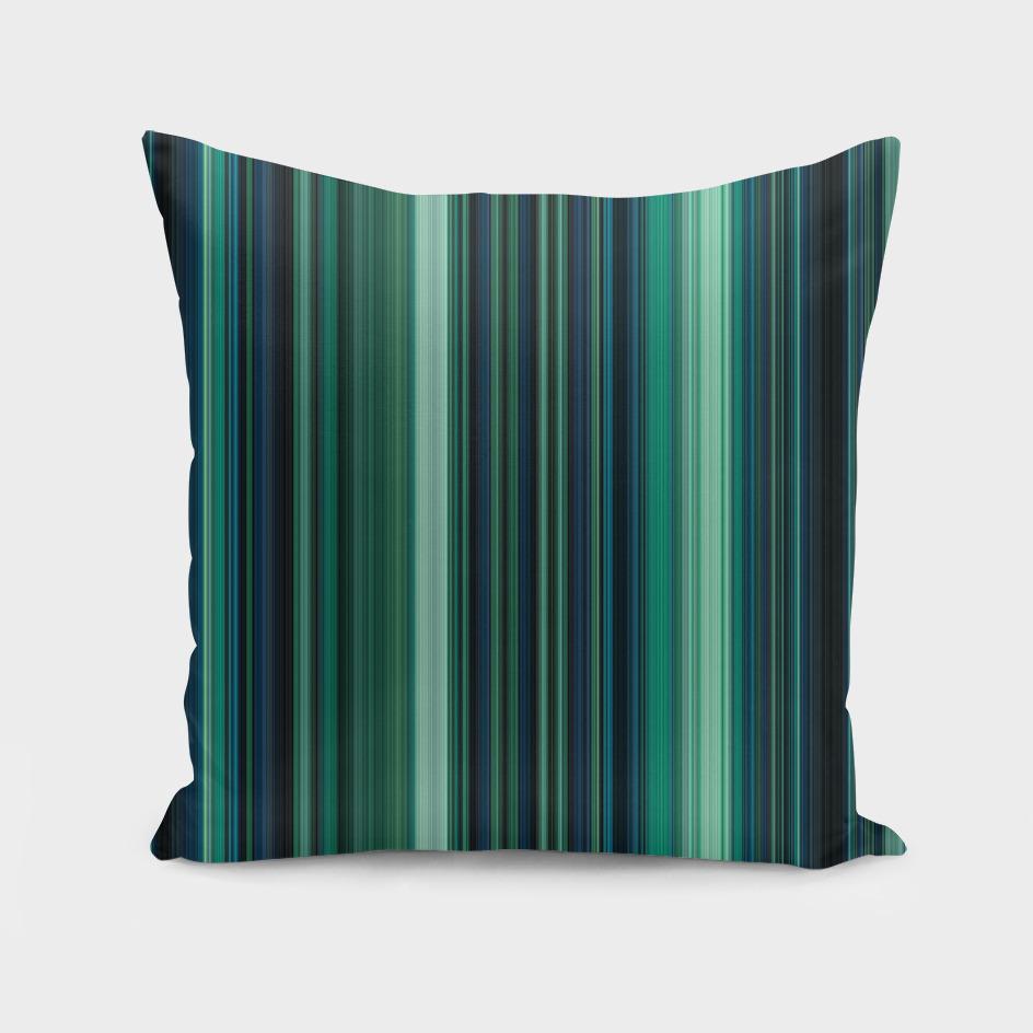 Aqua Blue and Teal Stripes