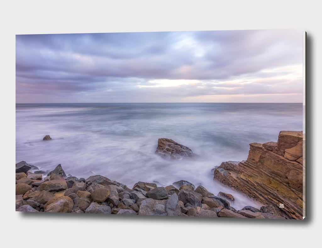 Rock Sea Sky