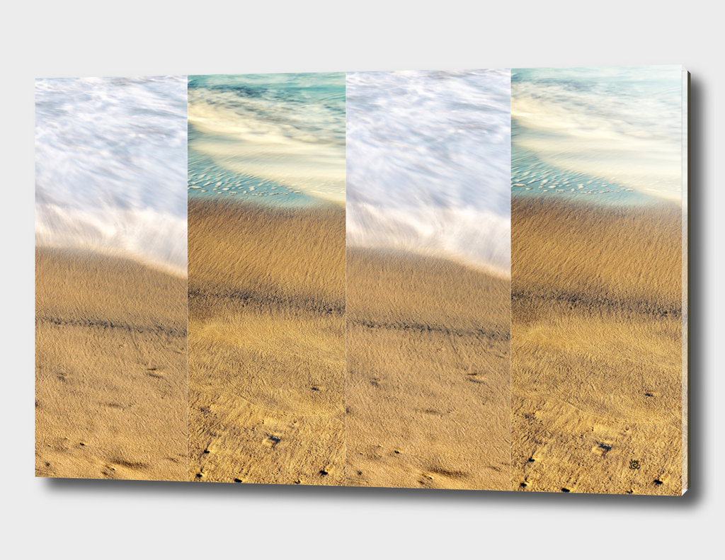 Sea Meets Sand Collage