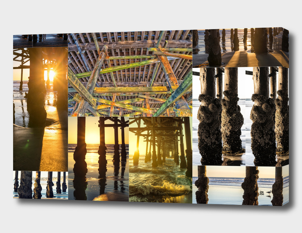 Under The Pier Collage