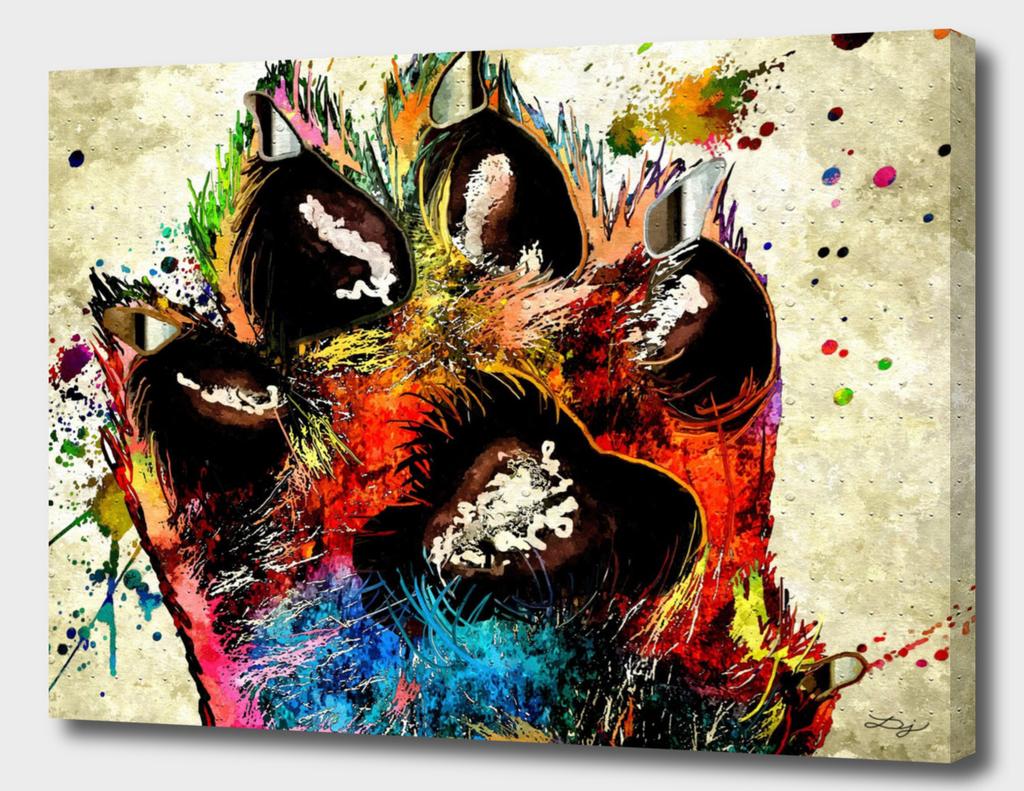 Dog's Paw Grunge