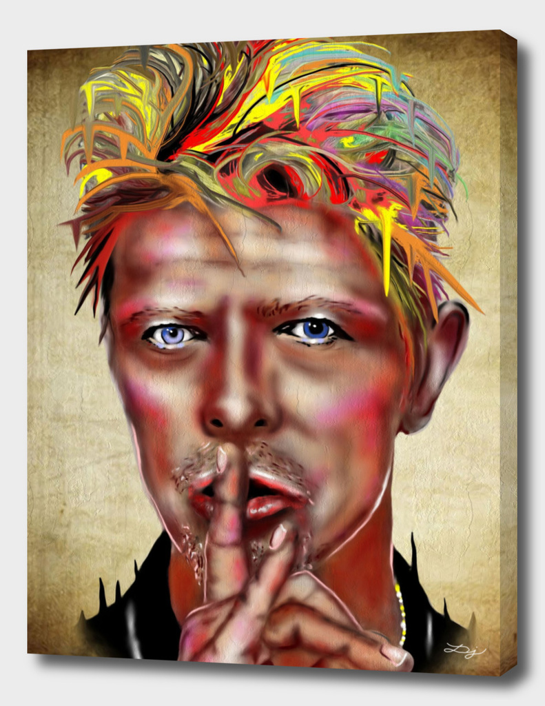 David Bowie Painting