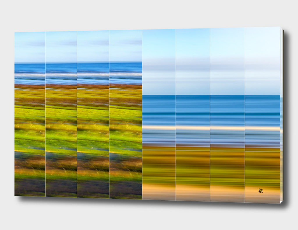 Coastal Impression In Vertical