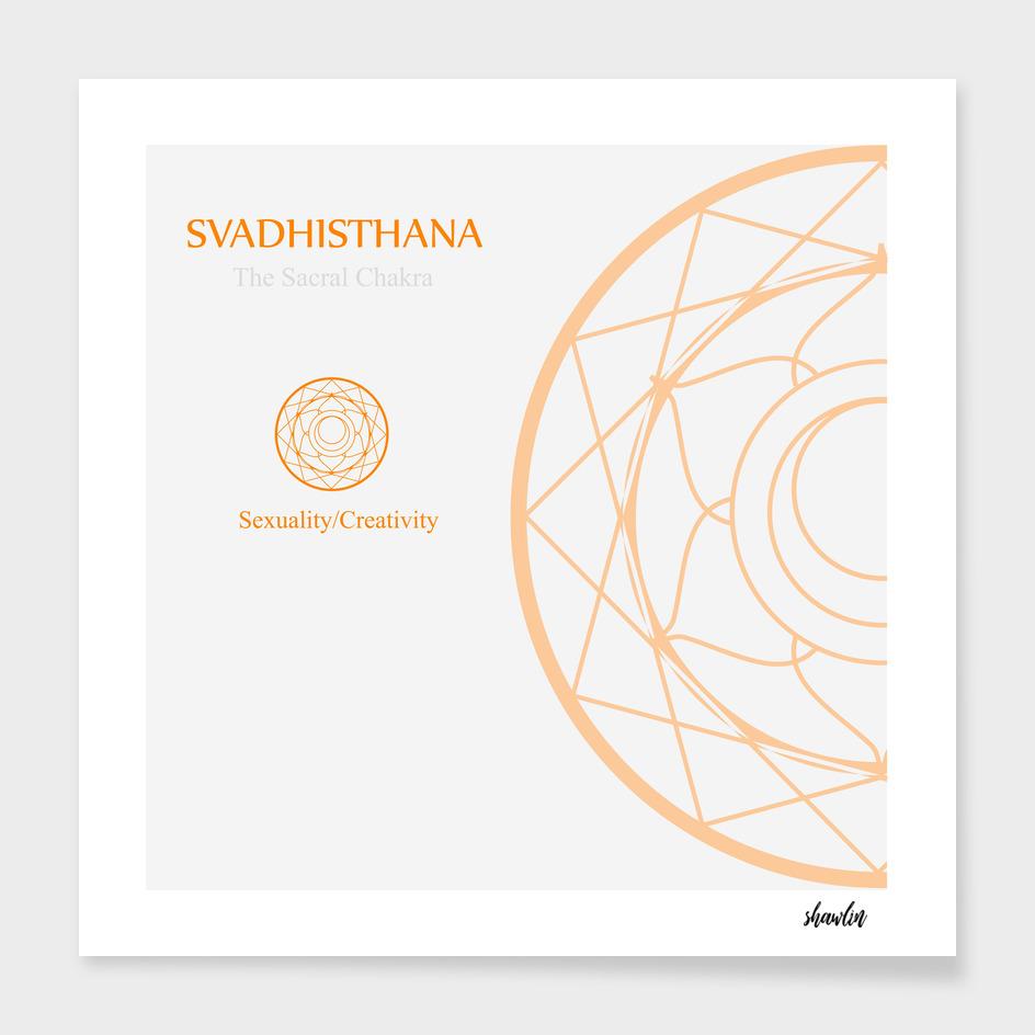 Svadhisthana- The sacral chakra for sexuality and creativity
