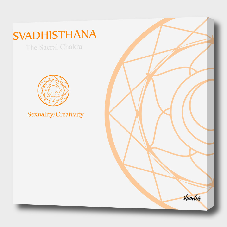 Svadhisthana- The sacral chakra for sexuality and creativity