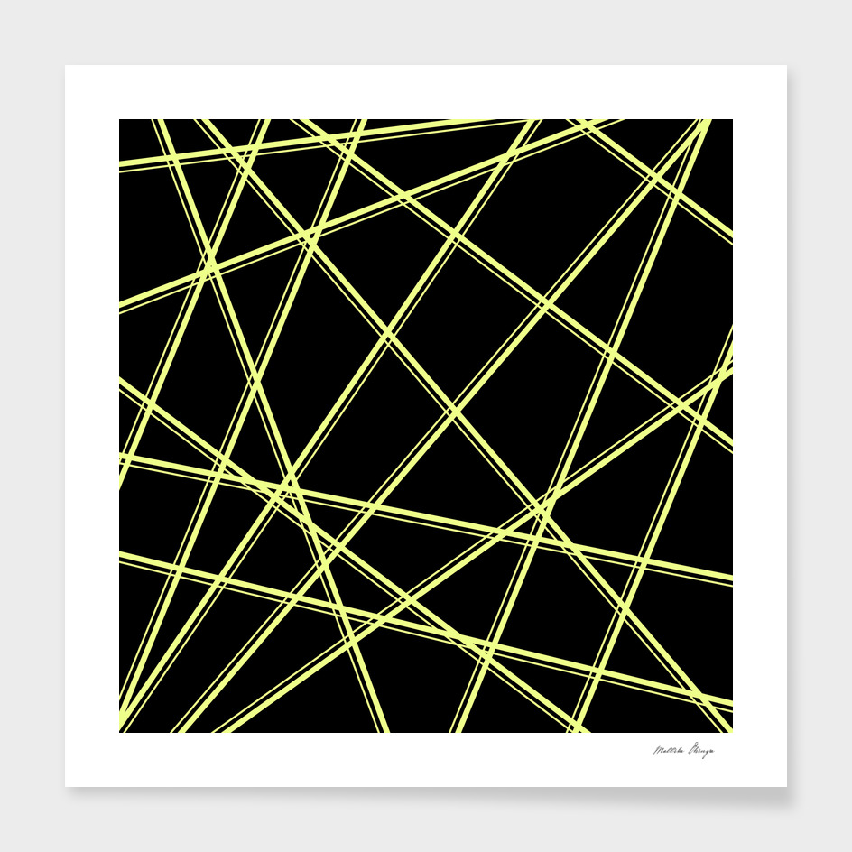 yellow lines pattern