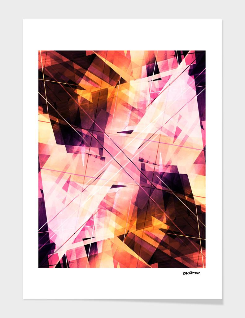 Sunbound - Geometric Abstract Art
