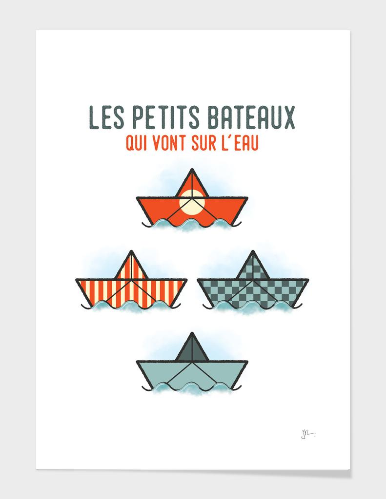 Les Petits Bateaux - Nautical Flags Edition