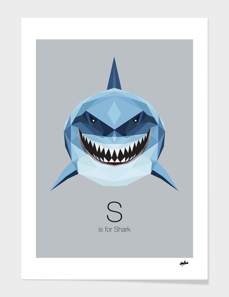 S is for Shark