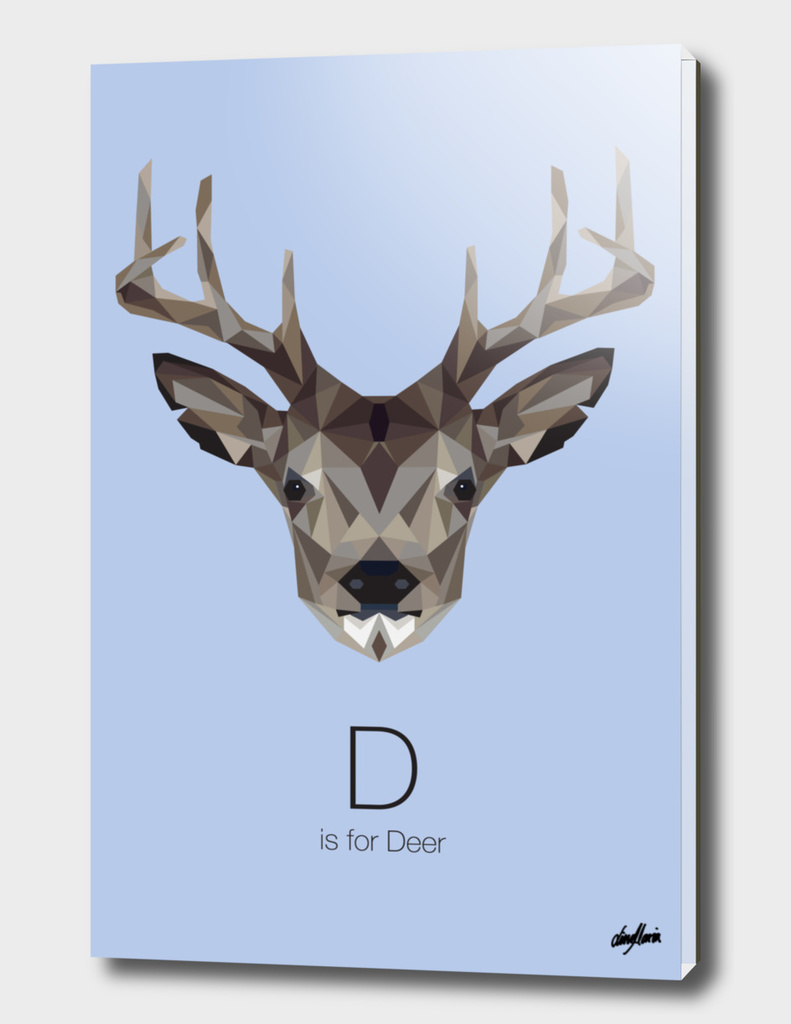 D is for Deer