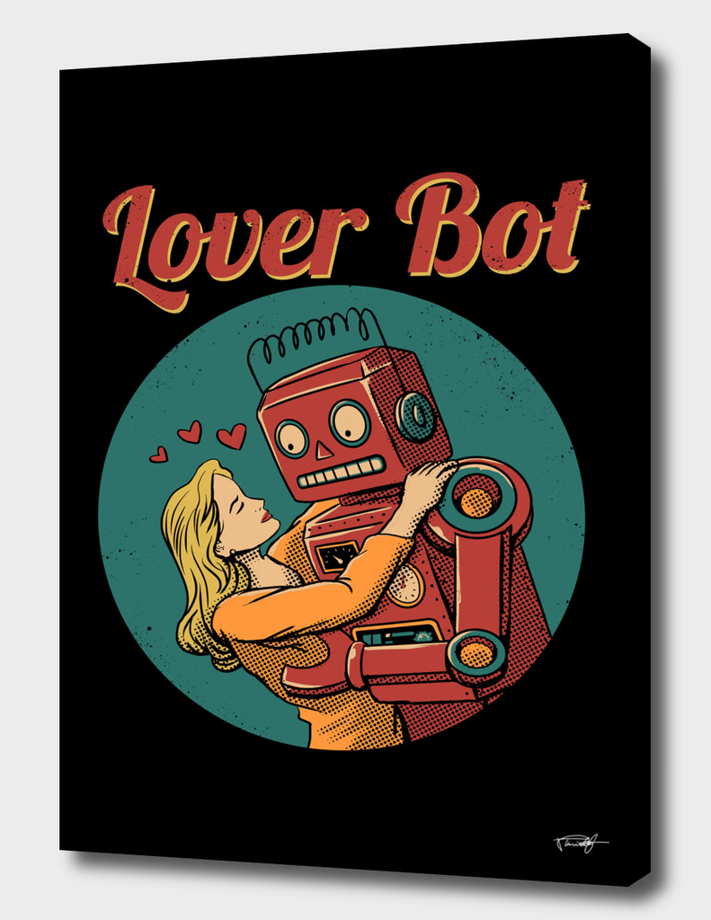 Lover Bot - Color Sep