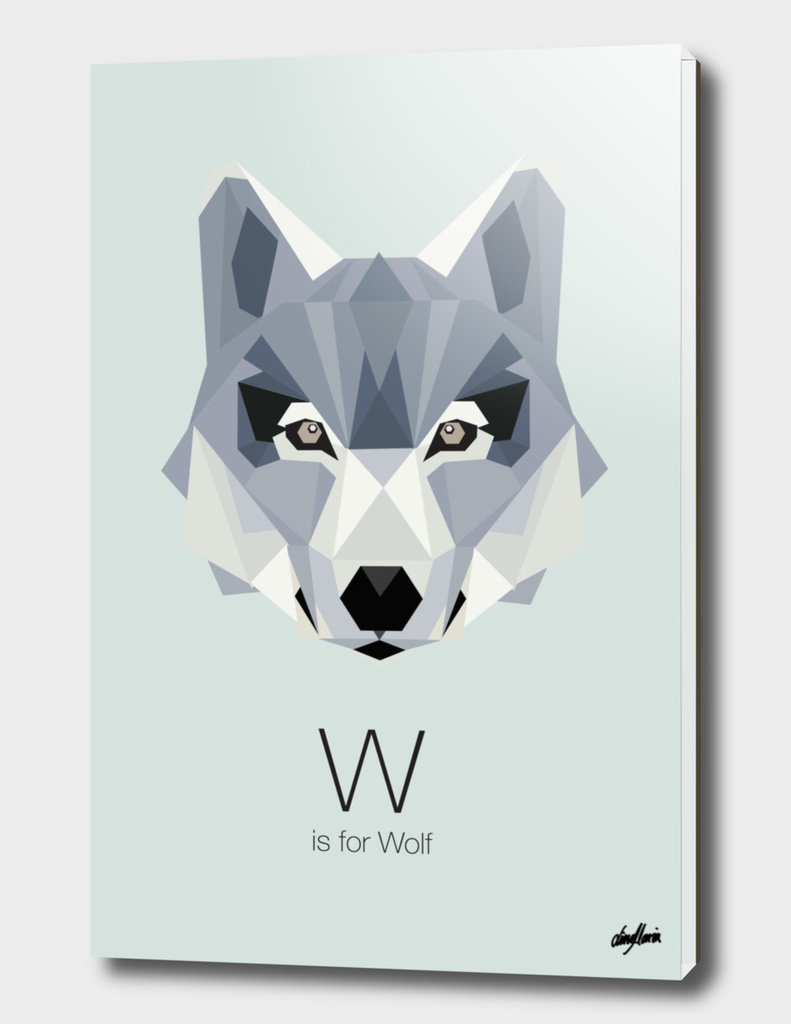 W is for Wolf
