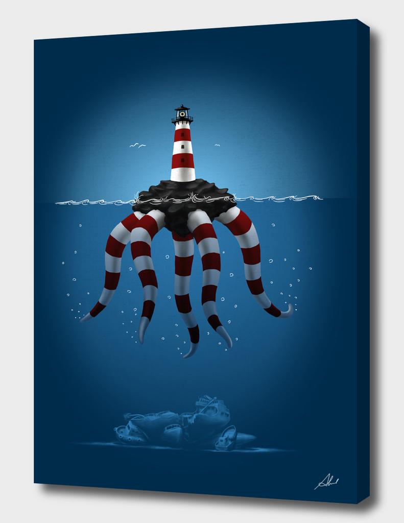 lighthouse monster