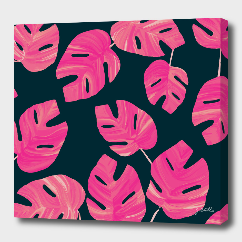 Tropical Pink leaves