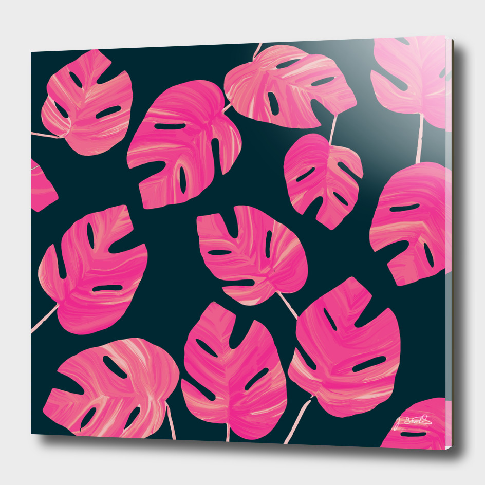 Tropical Pink leaves