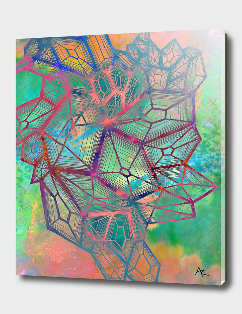 technicolor crystals