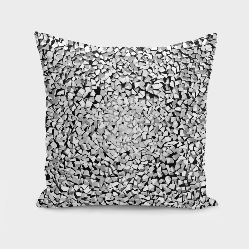Smashed Stone - White