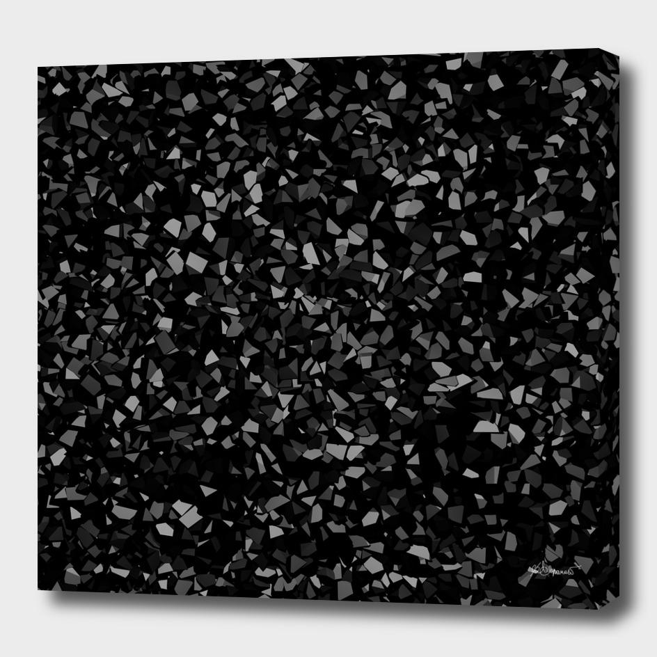 Black Stone Smashed pieces