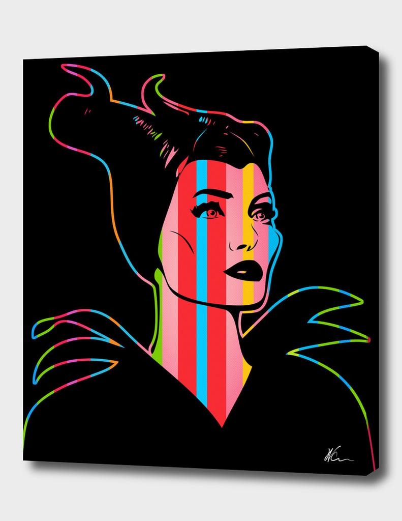 Maleficent | Dark | Pop Art