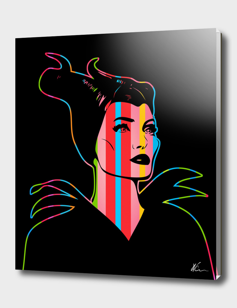 Maleficent | Dark | Pop Art