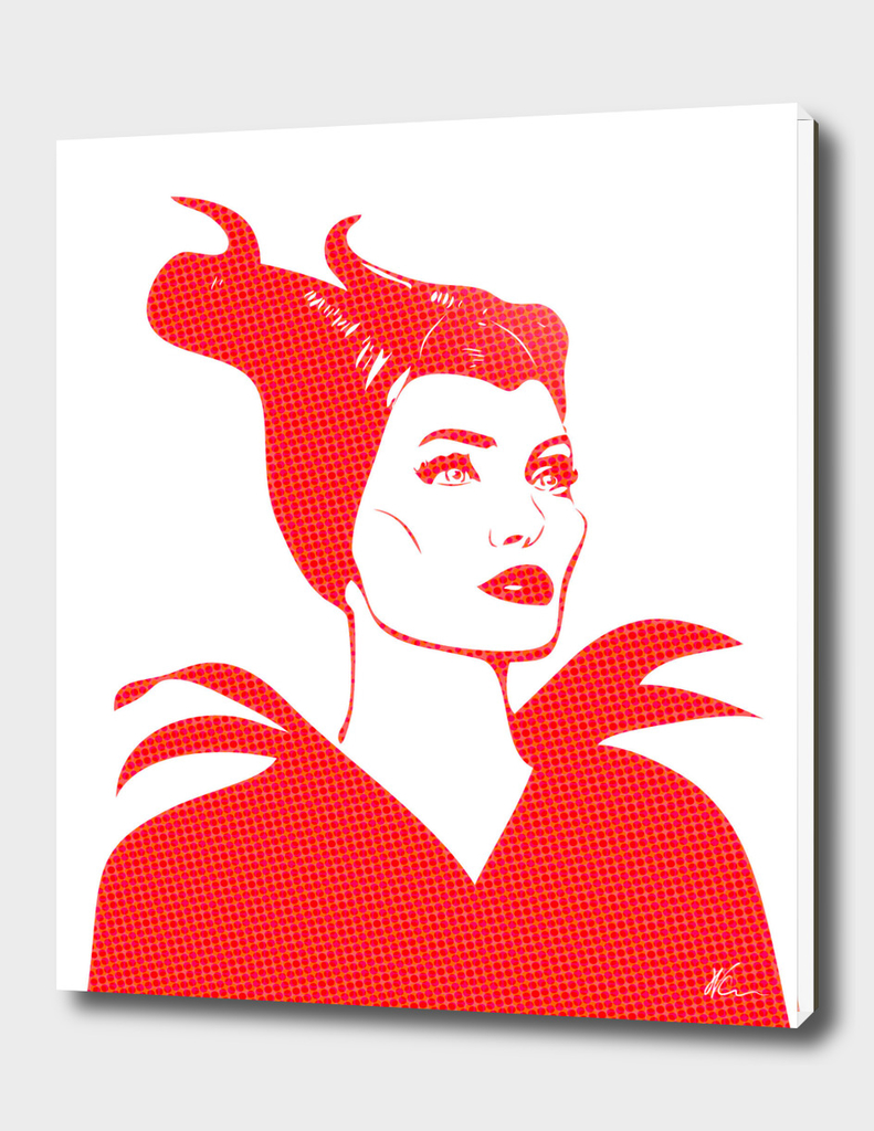 Maleficent | Pop Art