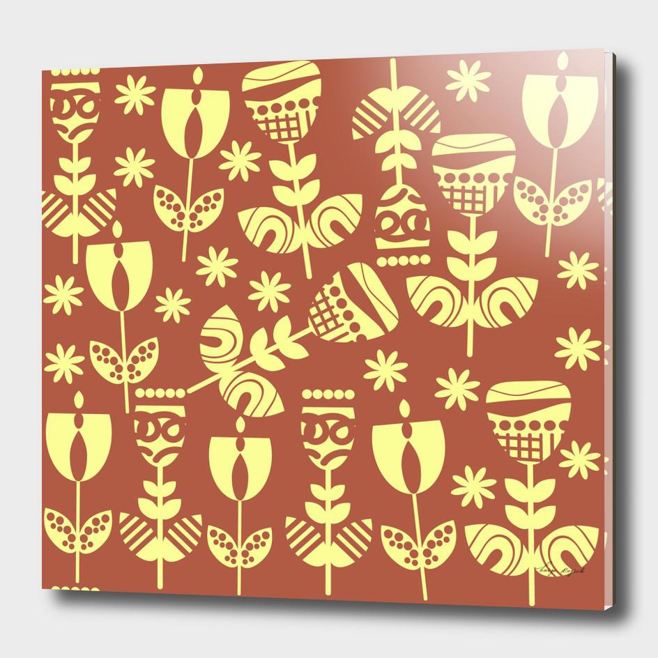 Floral  pattern 55