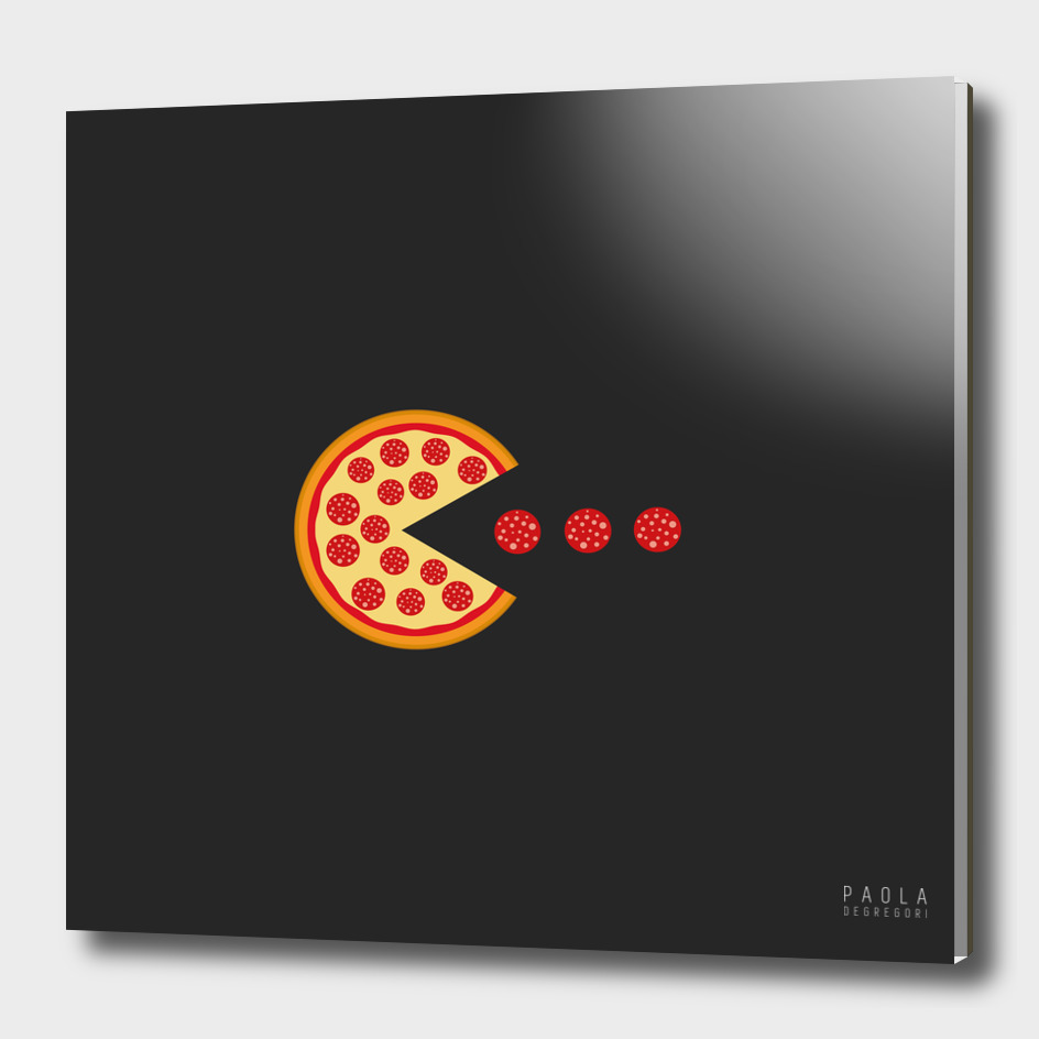 Pizza pac-man