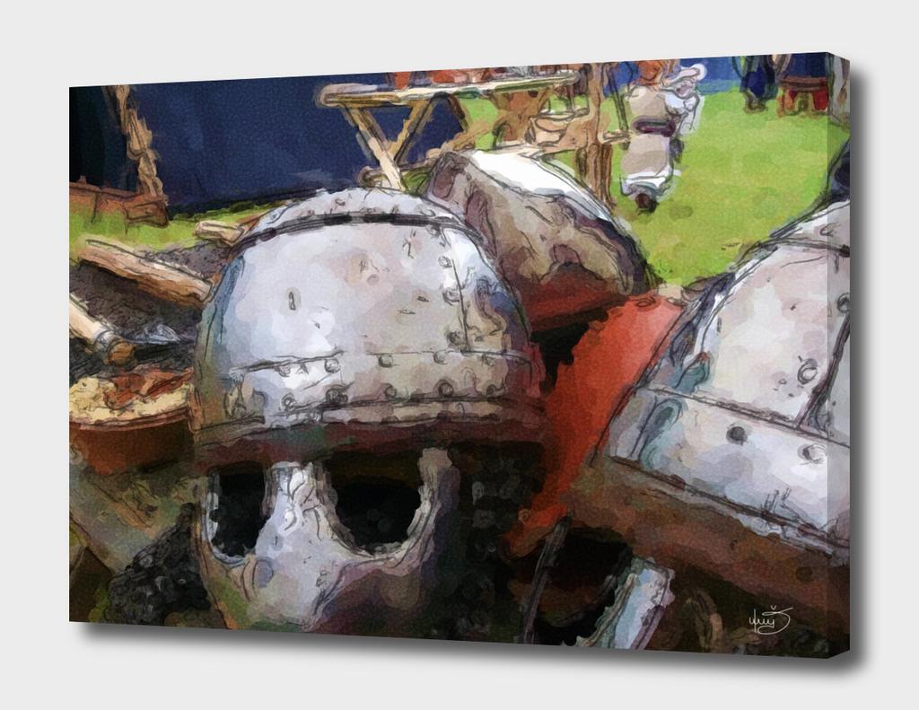 Warrior Viking Armor Viking Shield and accessories / pagan
