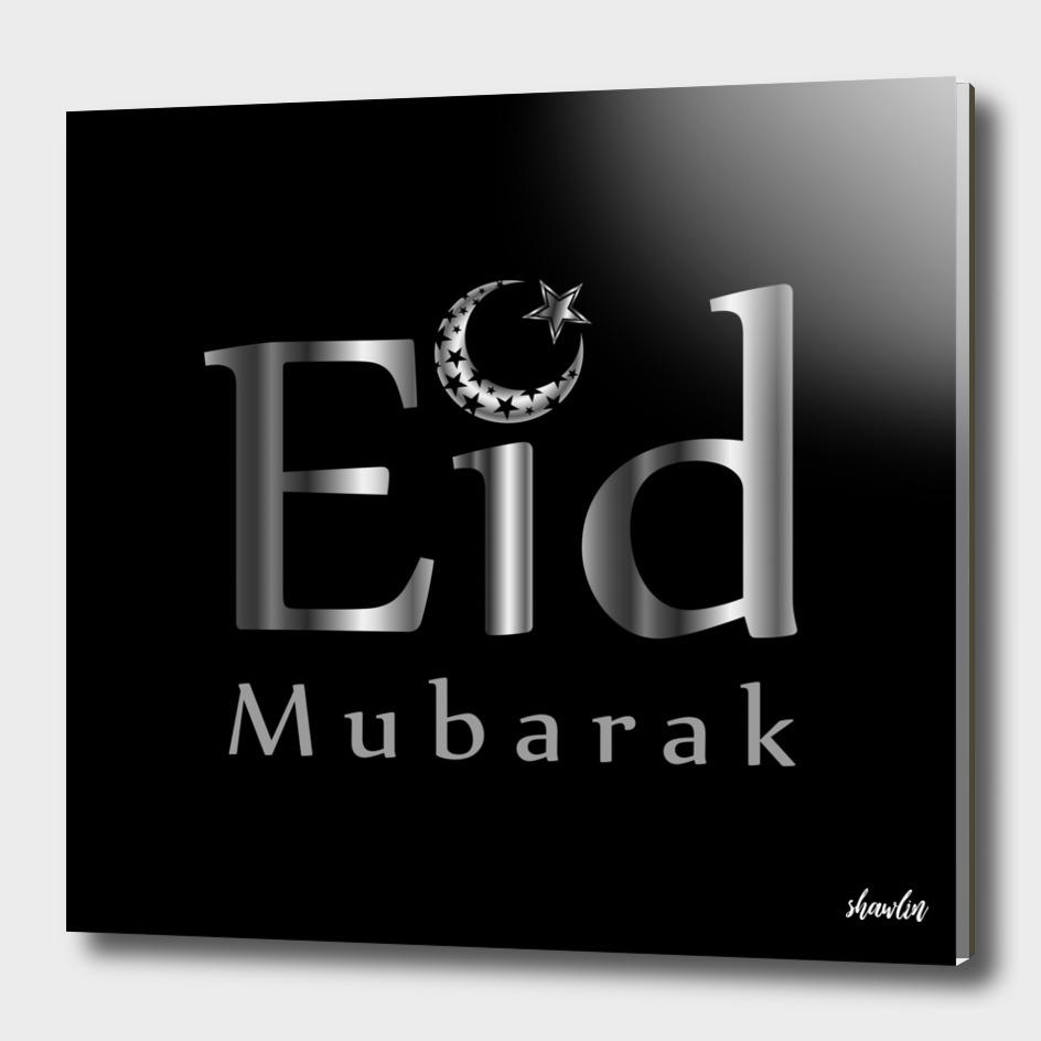 Eid Mubarak with Islamic Star