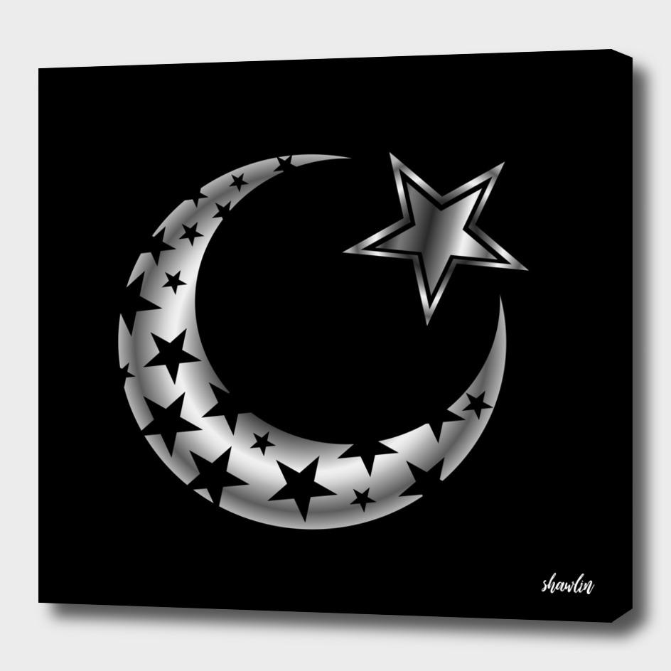 The Islamic star