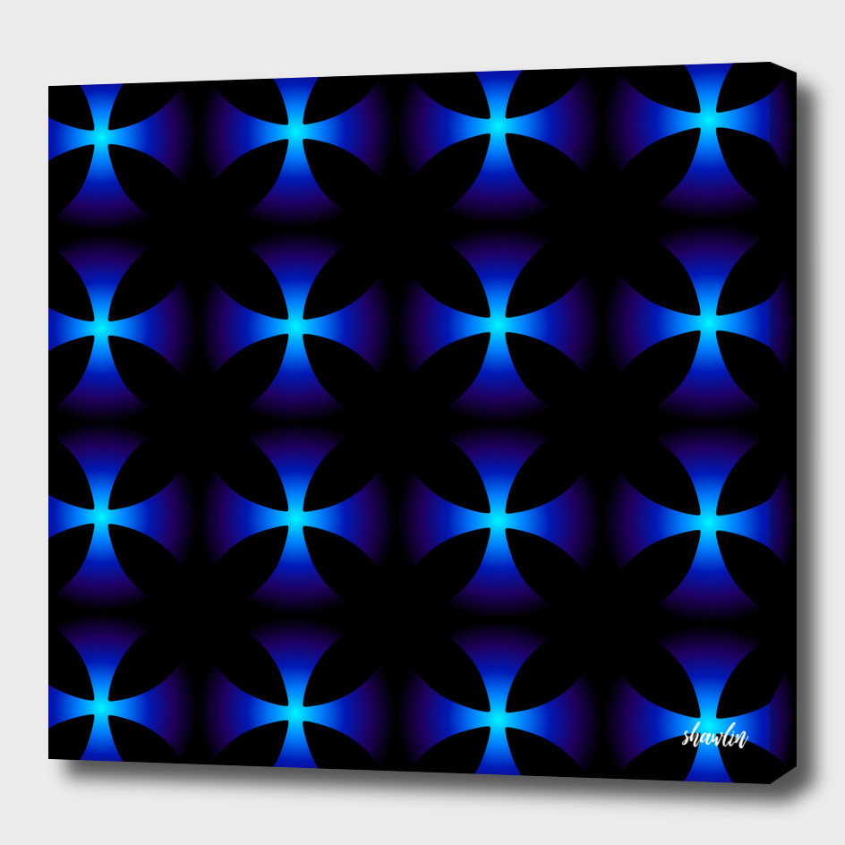 Glowing fractals