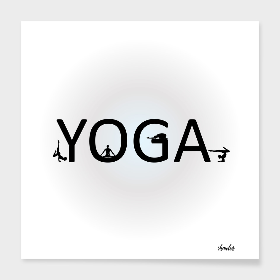 yoga with different yoga poses