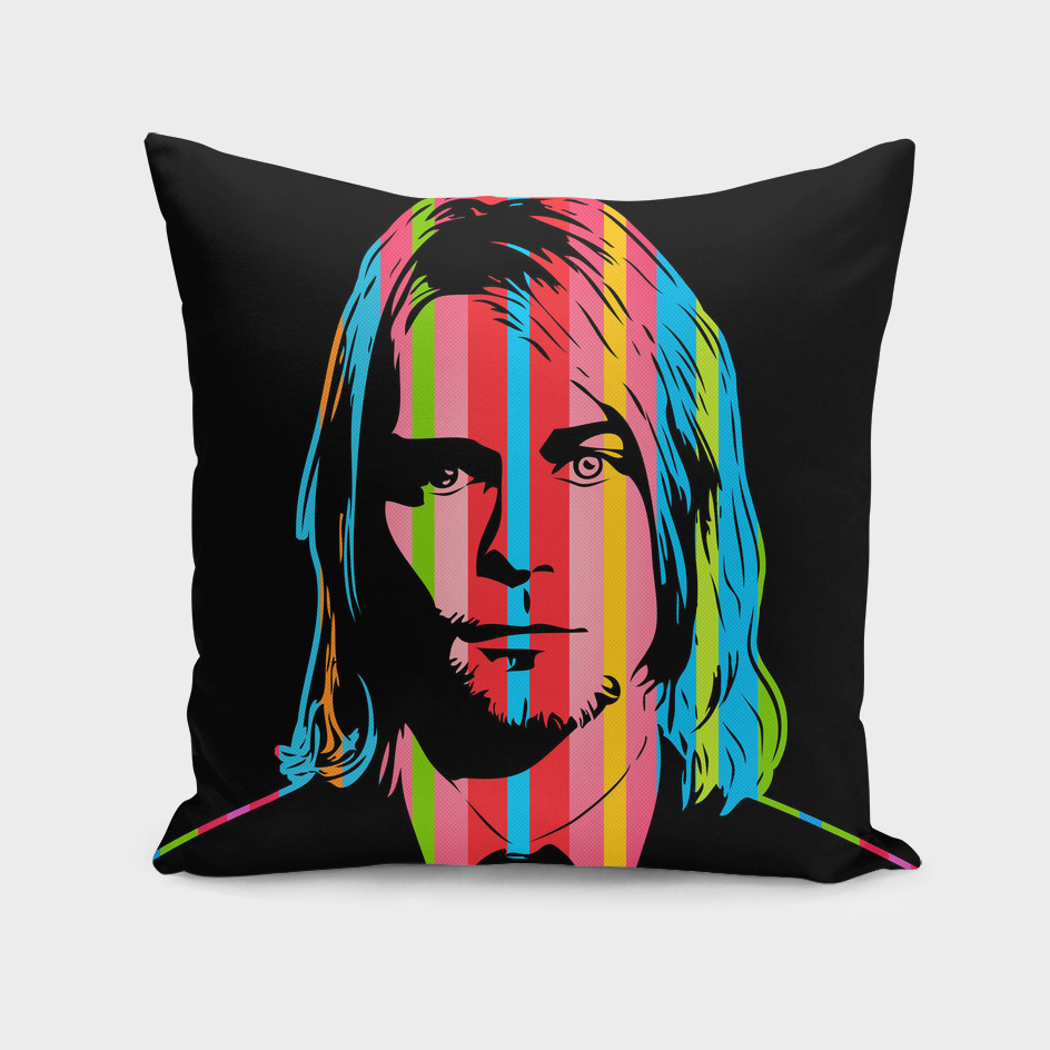 Kurt Cobain | Dark | Pop Art