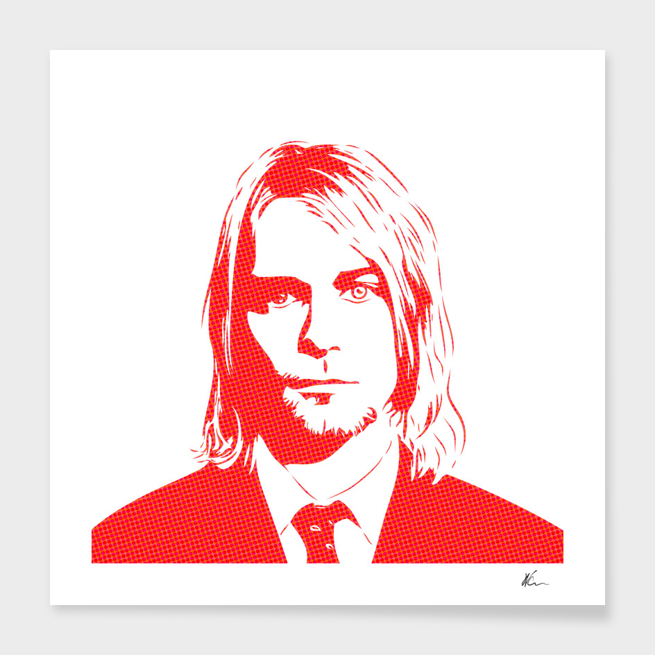 Kurt Cobain | Pop Art