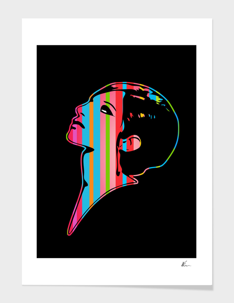Barbra Streisand | Dark | Pop Art