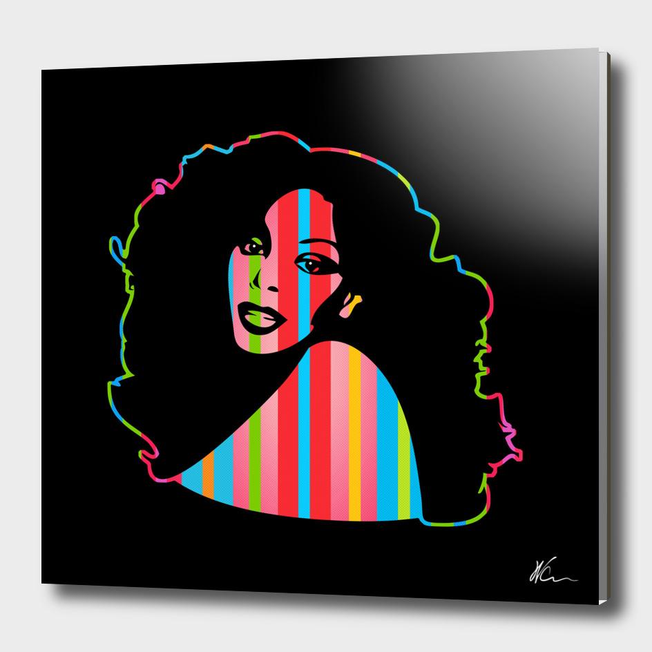 Donna Summer | Dark | Pop Art