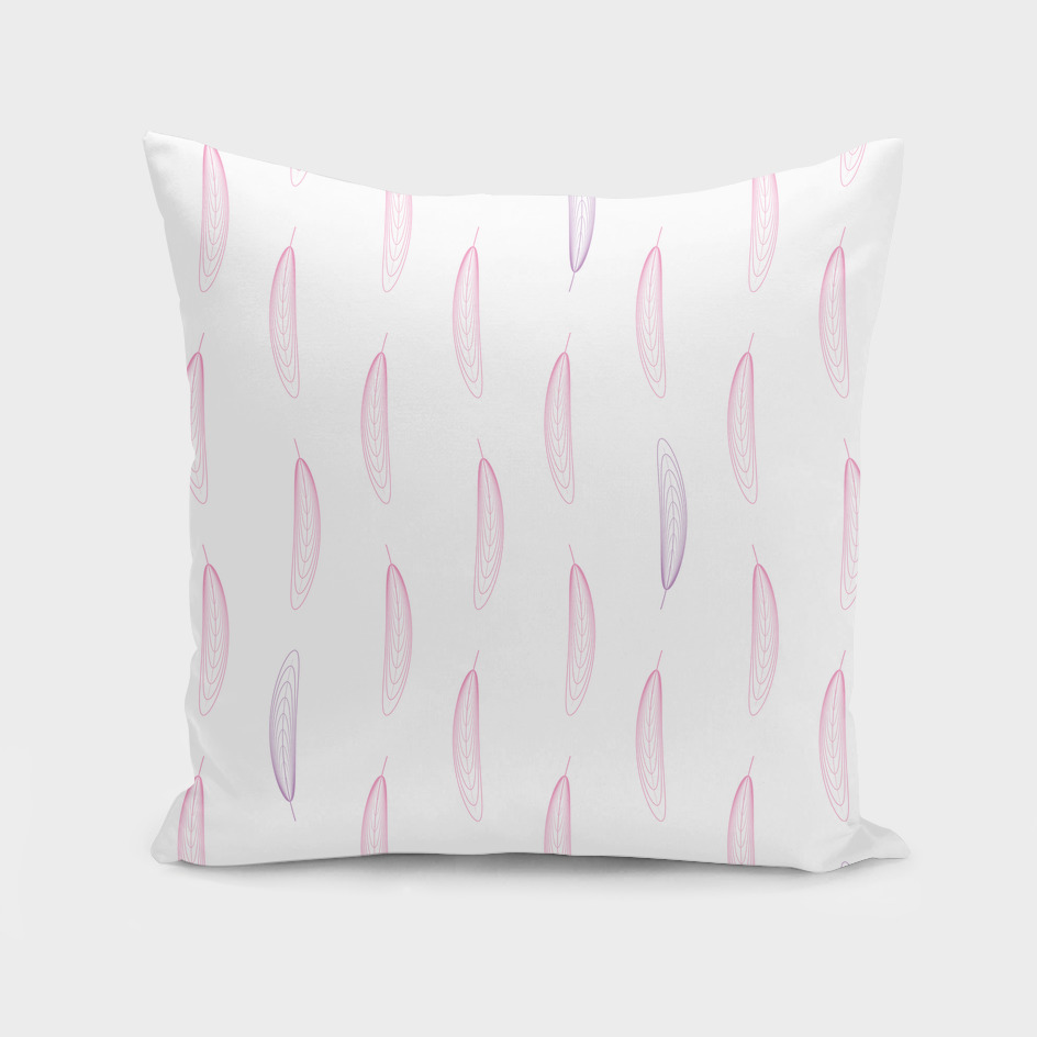 Feathers - Pink & Purple #447