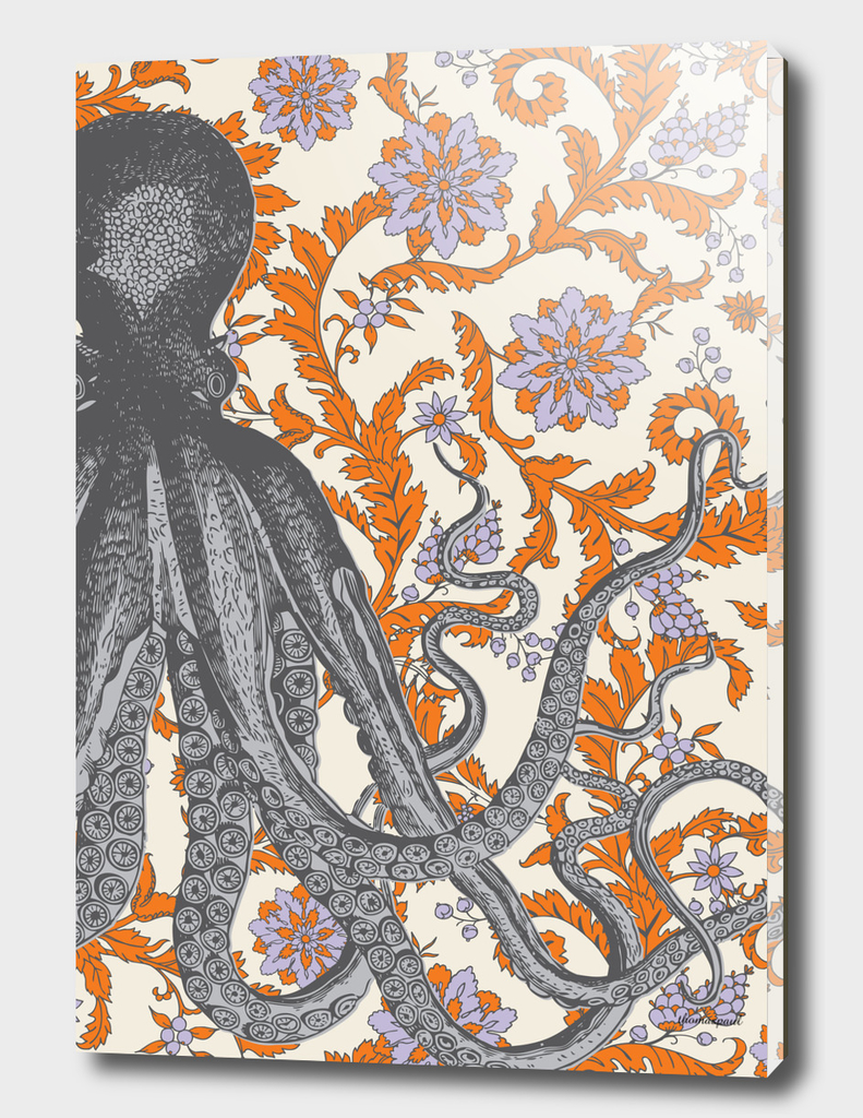 Vineyard Octopus Orange