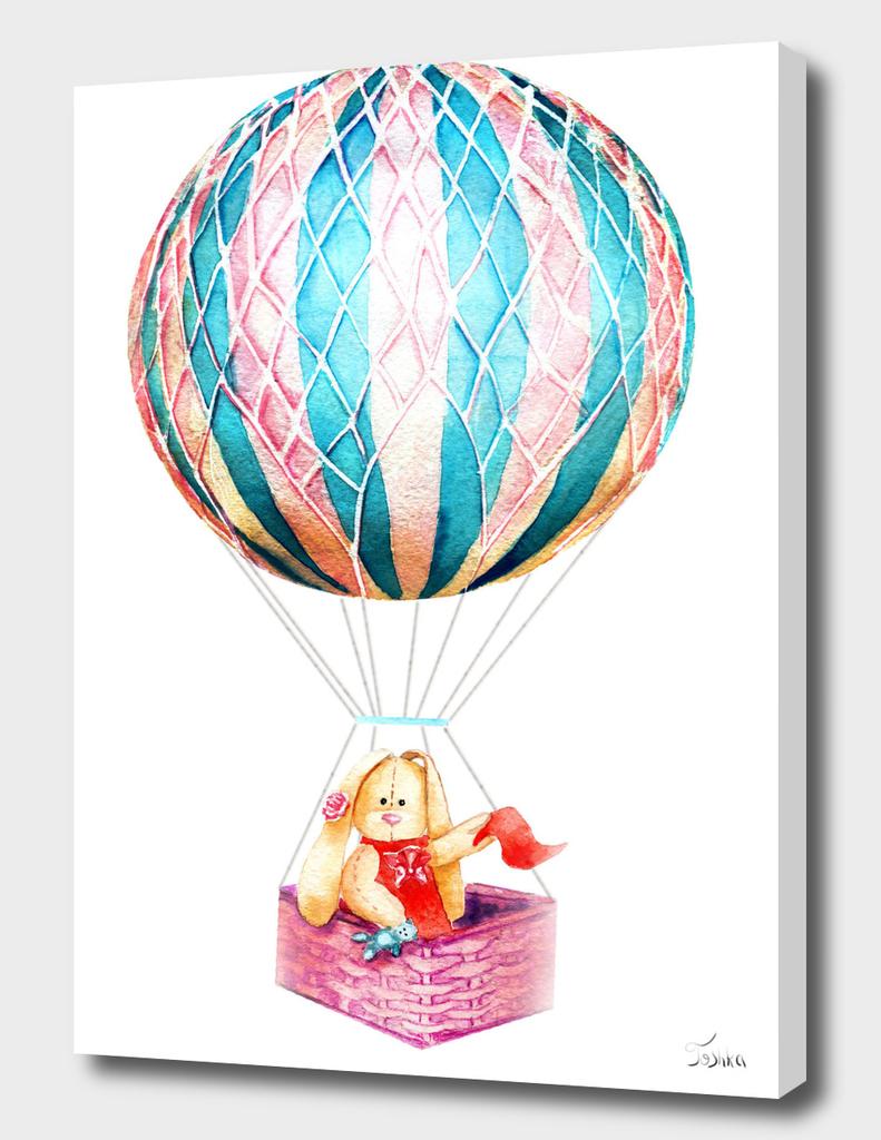 balloon with a bunny