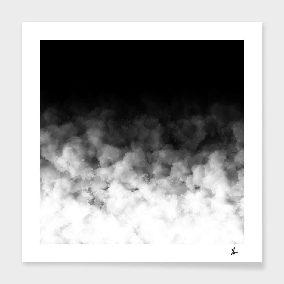 Ombre Smoke Clouds Minimal