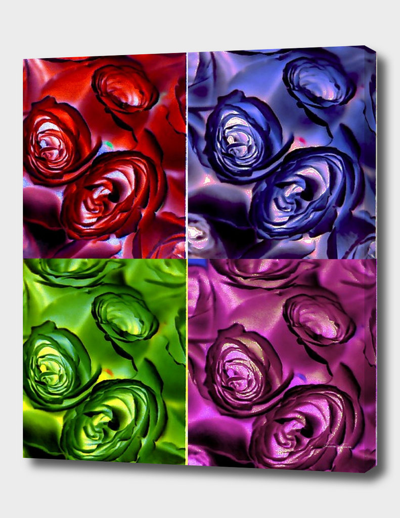 Psychedelic Roses