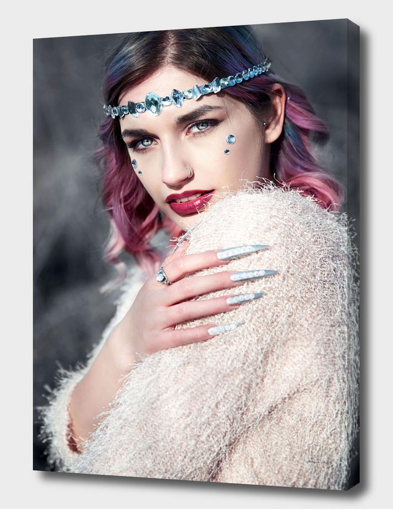 Violet princess