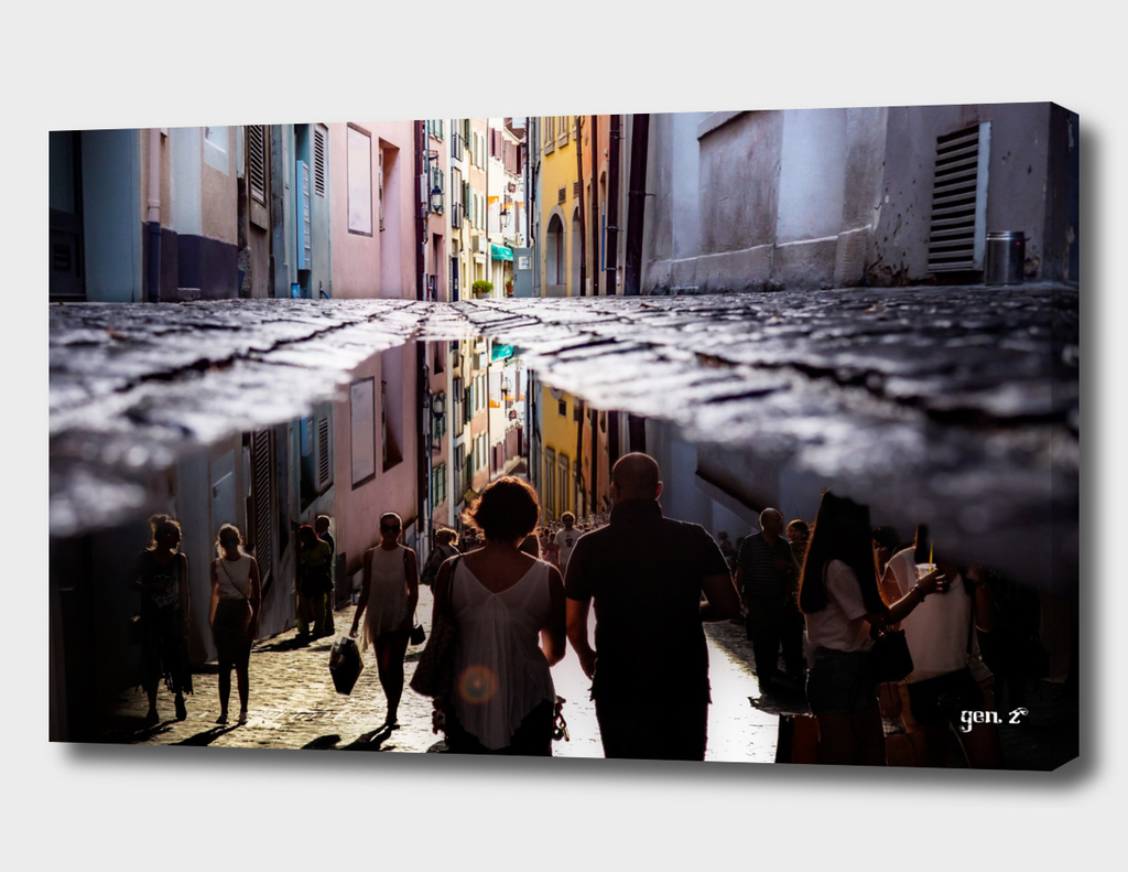 A reflection of city life by GEN Z