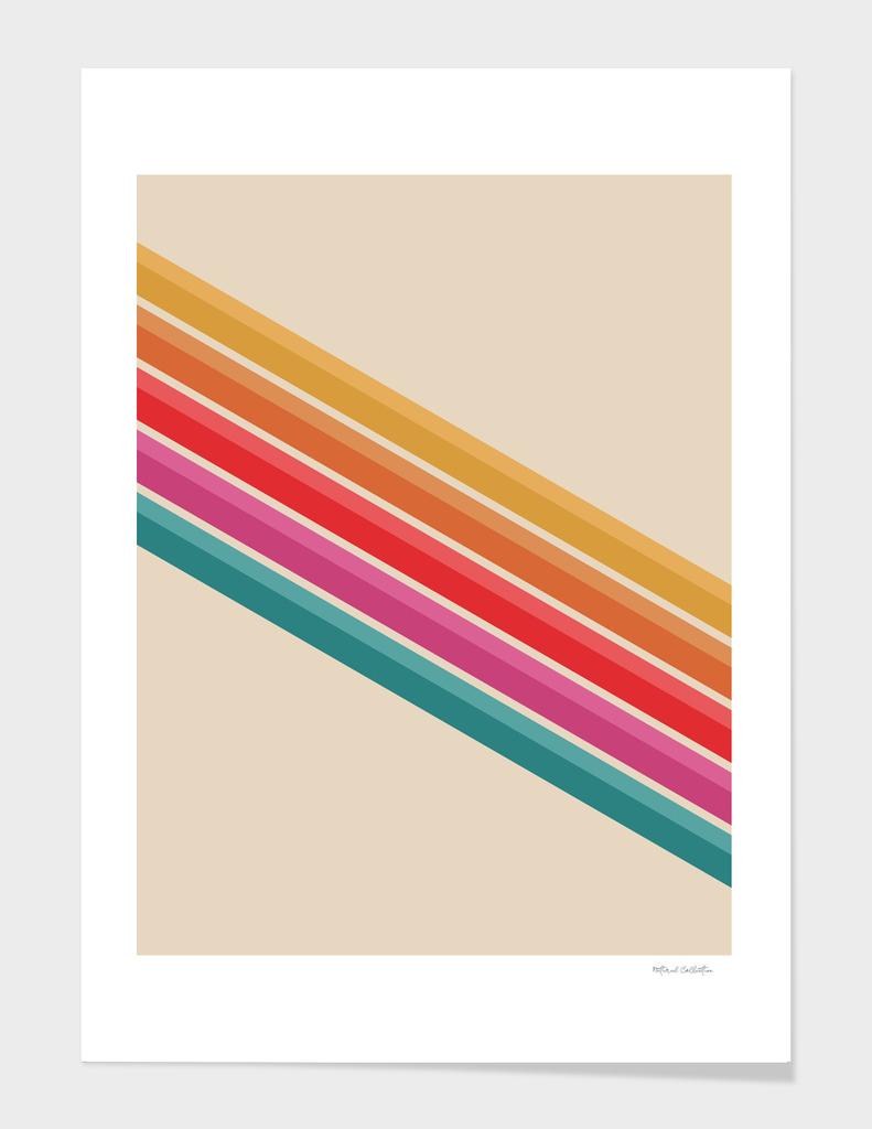 Retro Pattern - Downhill #743