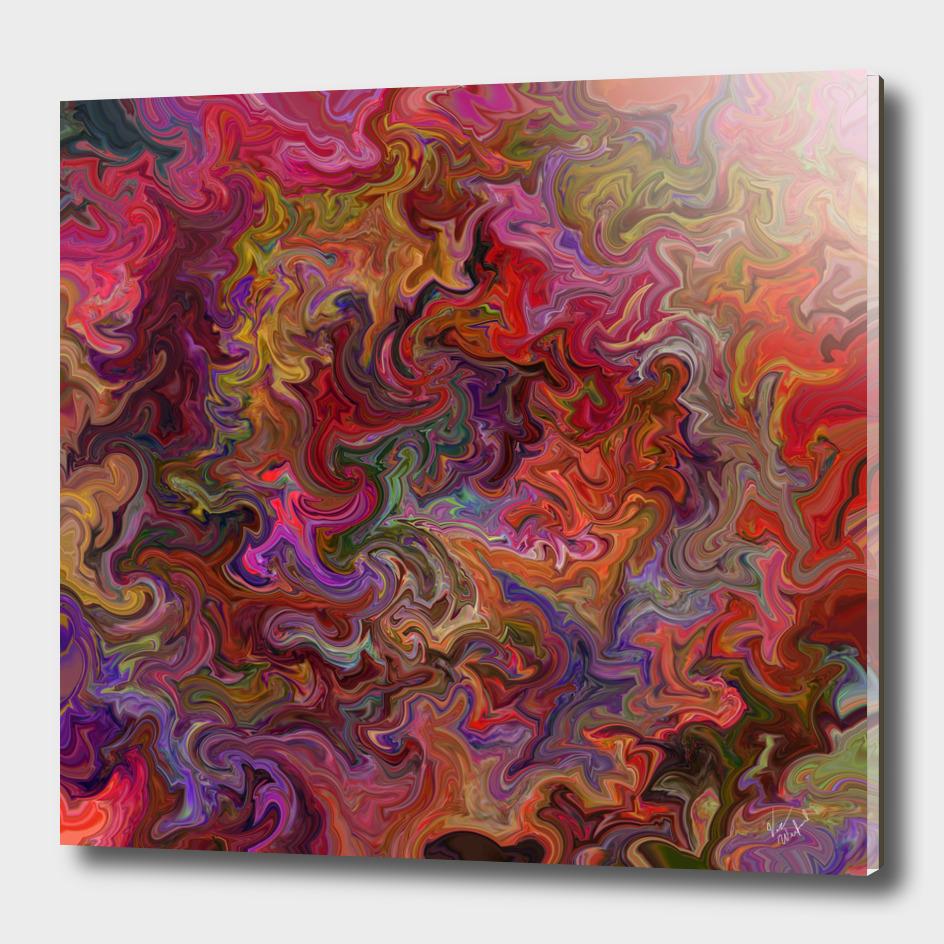 Psychodelic color flow