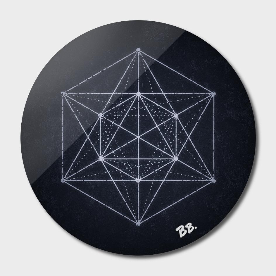 Sacred geometry / Minimal Hipster Symbol Art