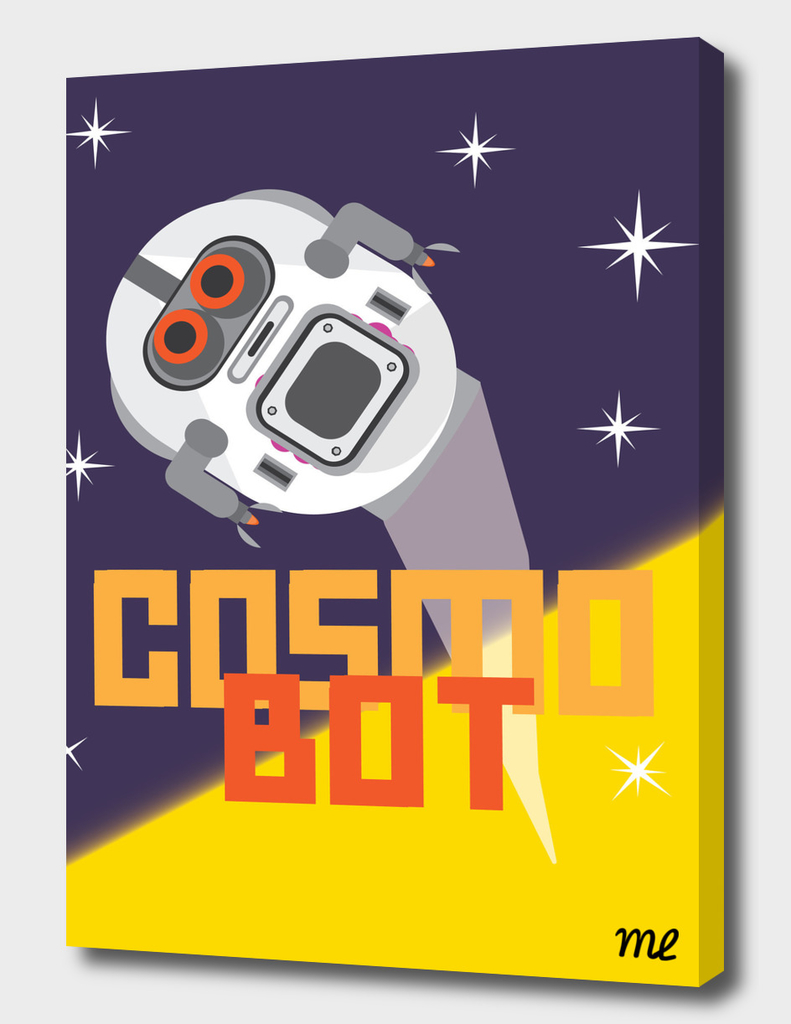 Cosmo Bot by Michael Lacroix