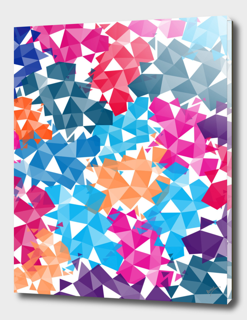 Background of geometric shapes II