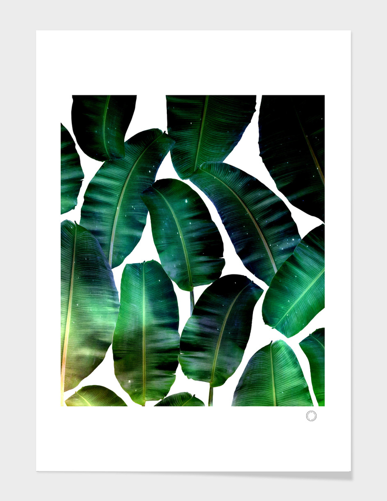 Cosmic Banana Leaves